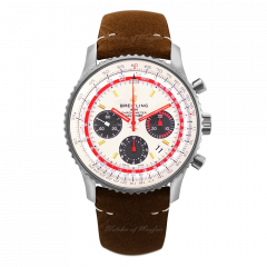AB01219A1G1X1 | Breitling Navitimer 1 B01 Chronograph 43 Steel watch | Buy Now