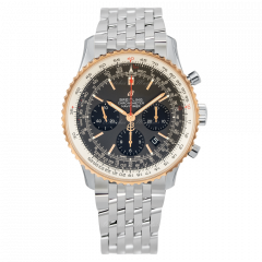 UB0121211F1A1 | Breitling Navitimer 1 B01 Chronograph 43 Steel & Gold watch | Buy Now