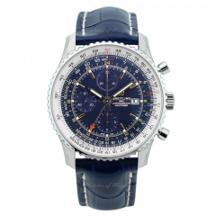 A24322121C2P2 | Breitling Navitimer 1 Chronograph GMT 46 Steel watch. Buy Online