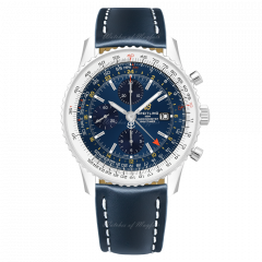 A24322121C2X1 | Breitling Navitimer 1 Chronograph GMT 46 Steel watch. Buy Online