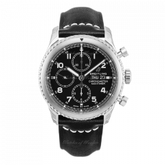 A13314101B1X1   Breitling Navitimer 8 Chronograph 43 mm watch. Buy Now