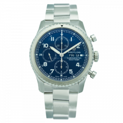 A13314101C1A1   Breitling Navitimer 8 Chronograph 43 mm watch. Buy Now