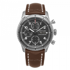 A13316101B1X3 | Breitling Navitimer Aviator 8 Chronograph 43 Steel watch | Buy Now