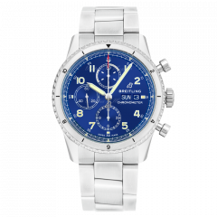 A13316101C1A1 | Breitling Navitimer Aviator 8 Chronograph 43 Steel watch | Buy Now
