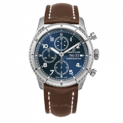 A13316101C1X4   Breitling Navitimer Aviator 8 Chronograph 43 Steel watch   Buy Now