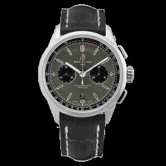 AB0118221B1P2 | Breitling Premier B01 Chronograph 42 Steel watch | Buy Now