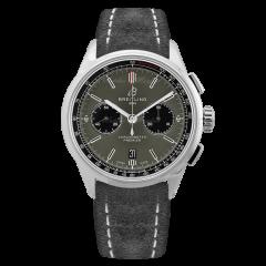 AB0118221B1X1 | Breitling Premier B01 Chronograph 42 Steel watch. Buy Online