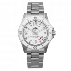 A17316D21A1A1 | Breitling Superocean II Automatic 36 Steel watch | Buy Now