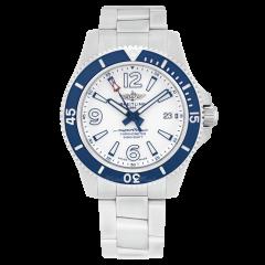 A17366D81A1A1   Breitling Superocean II Automatic 42 Steel watch. Buy Online