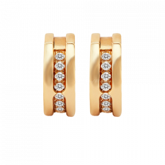 OR856307 | Buy Online Bvlgari B.Zero1 18K Rose Gold Diamond Earrings