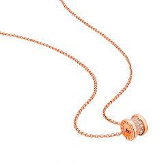 CL857518 | Buy Online Bvlgari B.Zero1 Rose Gold Diamond Pendant