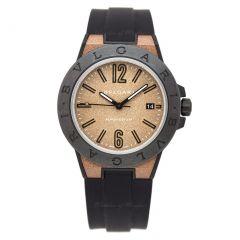 102306   BVLGARI Diagono Magnesium Ceramic Automatic 41mm watch