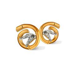 DA10574 030101   Buy Carrera y Carrera Bambu Tao Mini Diamond Earrings