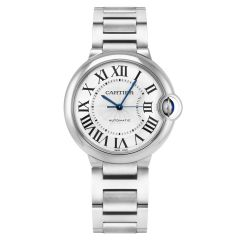 WSBB0048 | Cartier Ballon Bleu De Cartier Steel Automatic 36mm watch. Buy Online