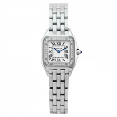 W4PN0007   Cartier Panthere Steel Small 22 x 30 mm watch   Buy Online