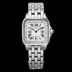 W4PN0008   Cartier Panthere De Cartier Steel Medium 27 x 37 mm watch   Buy Online