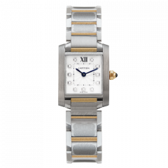 WE110004   Cartier Tank Francaise 25.35 x 20.25 mm watch   Buy Online