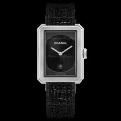 Chanel BoyВ·Friend Tweed 34.6 x 26.7 mm H5503