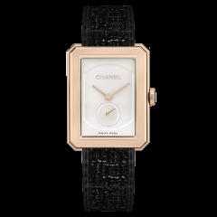 Chanel BoyВ·Friend Tweed 34.6 x 26.7 mm H5586