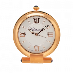 95020-0078   Chopard Alarm Clock Imperial Pink Gold Finish 120 mm. Buy Now