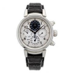 IW392104   IWC Da Vinci Perpetual Calendar Chronograph 43 mm watch.