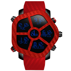 GH100.11.NS.PC.AND4D   Jacob & Co. Ghost Color Red Quartz 47 mm watch   Buy Now