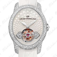 Girard-Perregaux Cat's Eye Jewellery Gold Bridge Tourbillon 99498D53V701-KK7A