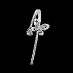 RGB266 | Buy Online Elegant Graff Butterfly White Gold Diamond Bangle