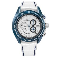 SBGC229 | Grand Seiko Spring Drive and Nissan GT-R 50th Anniversary Limited Edition Chronograph 46mm watch. Buy Online