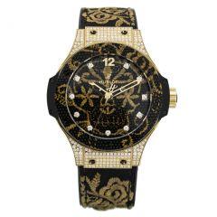 Hublot Big Bang Broderie Yellow Gold Diamonds 343.VX.6580.NR.0804