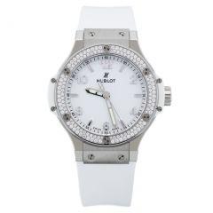 361.SE.2010.RW.1104 Hublot Big Bang Steel White Diamonds 38mm