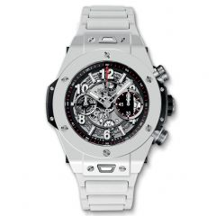 411.HX.1170.HX | Hublot Big Bang Unico White Ceramic Bracelet 45 mm watch. Buy Online