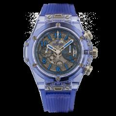 Hublot Big Bang Unico Blue Sapphire 45 mm 411.JL.4809.RT | Buy Online