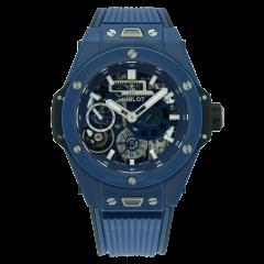 414.EX.5123.RX | Hublot Big Bang Meca-10 Ceramic Blue 45 mm watch. Buy