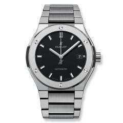 510.NX.1170.NX - Hublot Classic Fusion Titanium Bracelet 45 mm watch.