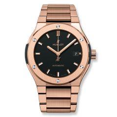 510.OX.1180.OX - Hublot Classic Fusion King Gold Bracelet 45 mm watch.
