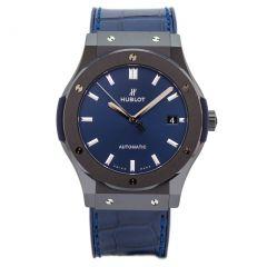 Hublot Classic Fusion Ceramic Blue 511.CM.7170.LR | E-Boutique