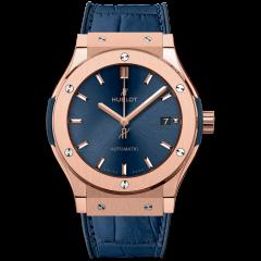 Hublot Classic Fusion Blue King Gold 511.OX.7180.LR