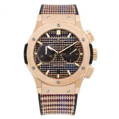 521.OX.2709.NR.ITI18   Hublot Classic Fusion Chronograph 45 mm watch.