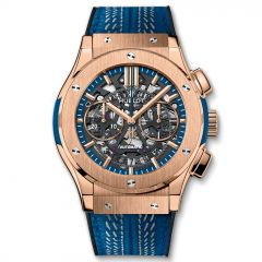 525.OX.0129.VR.ICC16 - Hublot Classic Fusion Aerofusion 2016 ICC World Twenty 20 King Gold 45 mm watch.