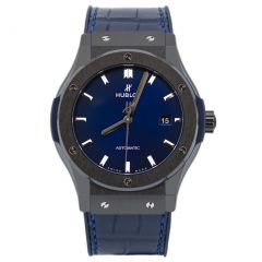Hublot Classic Fusion Ceramic Blue 542.CM.7170.LR. Watches of Mayfair