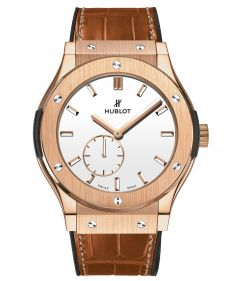 Hublot Classic Fusion King Gold White Dial 545.OX.2210.LR (Watches)
