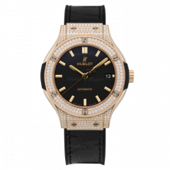 Hublot Classic Fusion King Gold Pave 565.OX.1181.LR.1704 (Watches)