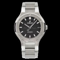 568.NX.1170.NX | Hublot Classic Fusion Titanium Bracelet watch. Buy Online