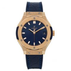 Hublot Classic Fusion Blue King Gold 581.OX.7180.LR (Watches)