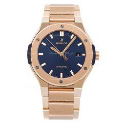 Hublot Classic Fusion King Gold Blue Bracelet 548.OX.7180.OX | Buy Now