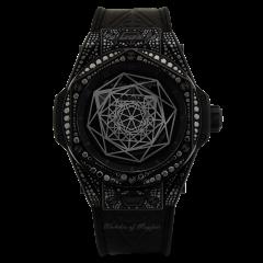 415.CX.1114.VR.1700.MXM17 | Hublot Big Bang Steel Black Automatic watch
