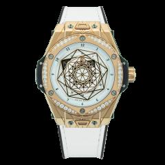 465.OS.2028.VR.1204.MXM19   Hublot Big Bang One Click Sang Bleu King Gold White Diamonds 39 mm