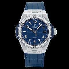 465.SX.7170.LR.1204 | Hublot Big Bang One Click Steel Blue Diamonds 39 mm watch | Buy Now