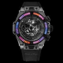 411.JB.4901.RT.4098 | Hublot Big Bang Unico All Black Sapphire Galaxy